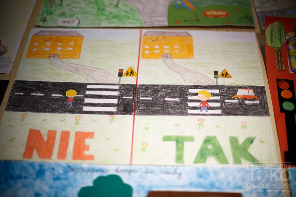 Rozstrzygnięcie 32 Konkursu Na Plakat Bezpieczna Droga Do